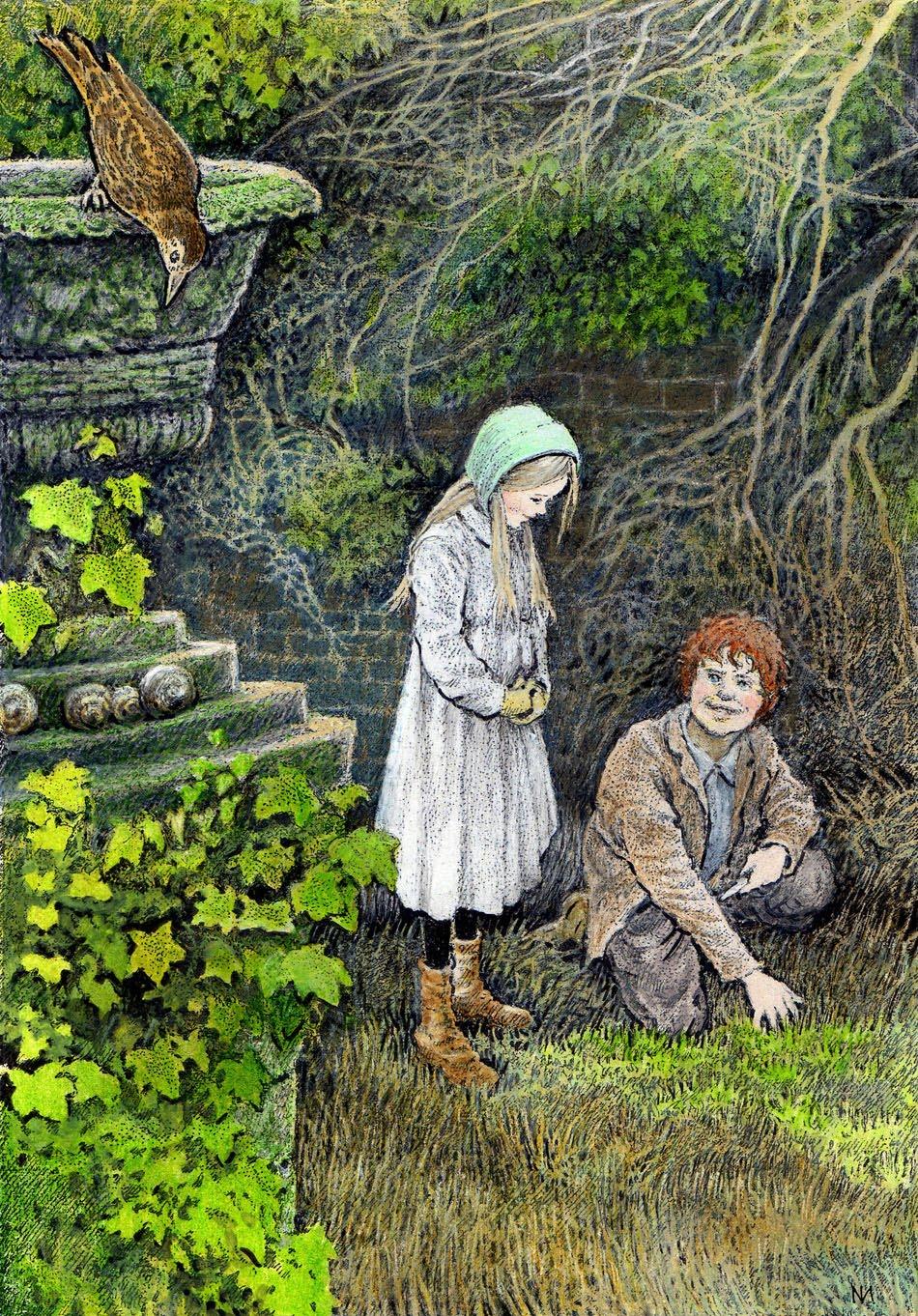 Il Giardino Segreto Di Frances Hodgson Burnett Dida