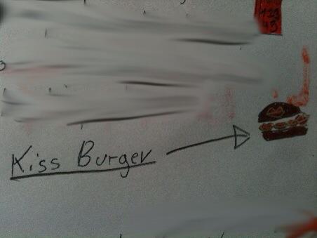 kiss burger
