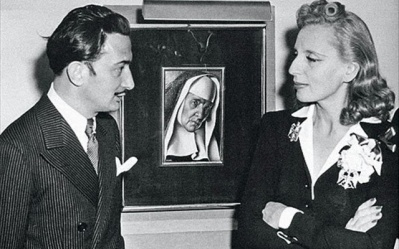 Salvador Dali and Tamara de Lempicka